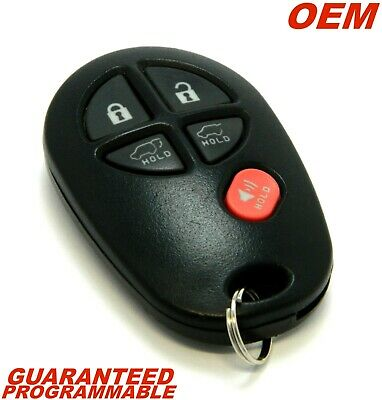 Oem 2008 - 2013 Toyota Highlander Keyless Remote Entry Fob Transmitter Gq43Vt20T