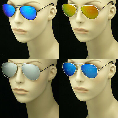 Kids Aviator Sunglasses Glasses Small Frame Face Children Boy Girl New Uv Lens