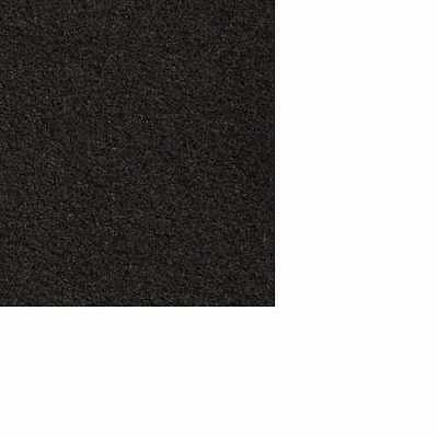 Dolls House Miniature 1:12 Scale Self Adhesive Black Carpet