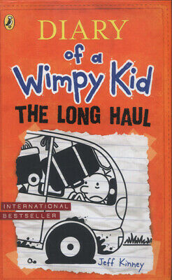 Diary of a wimpy kid: The long haul by Jeff Kinney (Hardback) Quality guaranteed