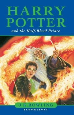 Harry Potter and the half-blood prince by J. K Rowling (Paperback)