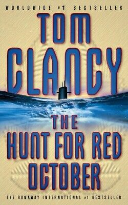 The hunt for Red October by Tom Clancy (Paperback)