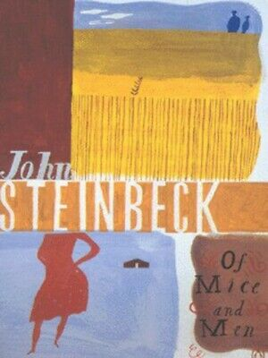 Of mice and men by John Steinbeck (Paperback)