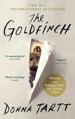 The goldfinch by Donna Tartt (Paperback)