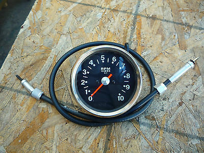 Triumph BSA Norton Tachometer And Cable NEW