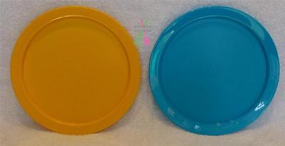 Tupperware Tuppercare Kids Plates  -Choose a Set of 2 Yellow & Blue