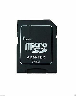 2x MICRO SD SDHC MEMORY CARD ADAPTOR ADAPTER CONVERTER TO STANDARD SD