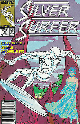 Silver Surfer #2 (Aug 1987, Marvel) VF/NM  See Scans!
