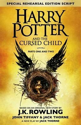 Harry Potter and the cursed child by J.K. Rowling (Hardback)