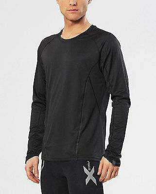 NEW 2XU THERMAL ACTIVE Long Sleeve TOP Mens Shirts