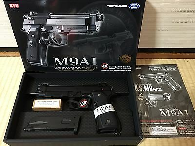 TOKYO MARUI M9A1 GBB black model made in japan New airsoft Toy Free shipping