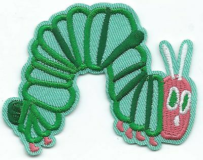 The Very Hungry Caterpillar Embroidered Iron-on Patches Art Good Luck Magic