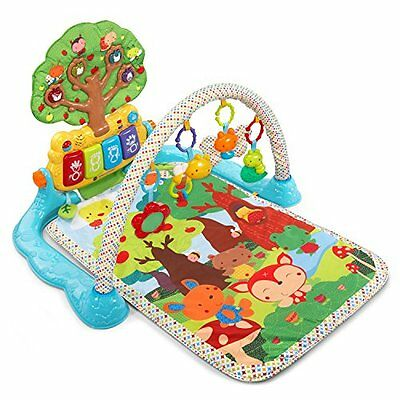 VTech Baby Lil' Critters MUSICAL GLOW GYM, BABY Colorful Activity PLAYMAT