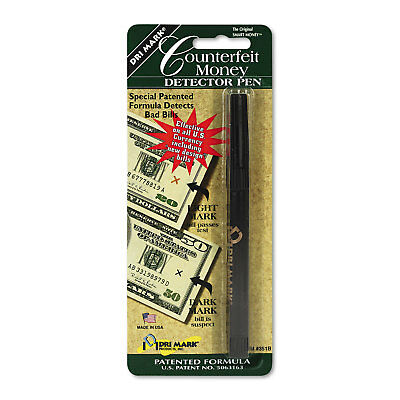 Smart Money Counterfeit Bill Detector Pen for Use w/U.S. Currency