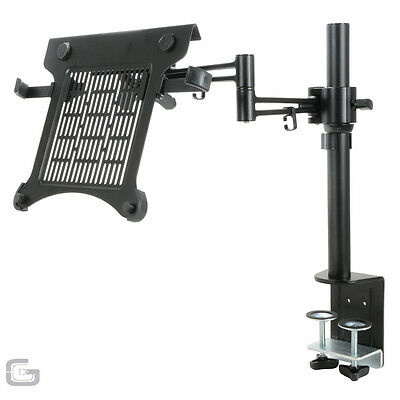 Citronic Desk Table Mount DJ Platform Adjustable Laptop PC Tablet Monitor Stand