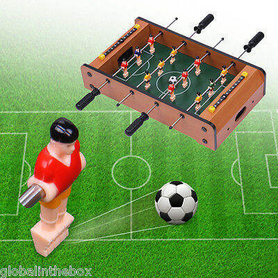 Mini Tabletop Football 20'' Soccer Game Table Foosball Toy Sport Family Kids Fun