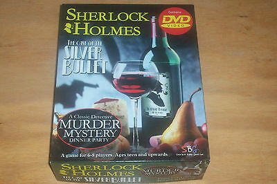 Sherlock Holmes The Case of The Silver Bullet MURDER MYSTERY DINNER GAME