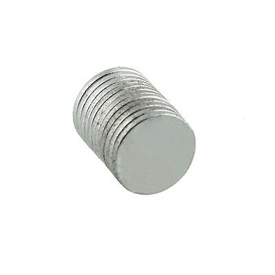 New Useful 10pcs Round Super Strong Magnets Rare Earth Neodymium 10x1mm
