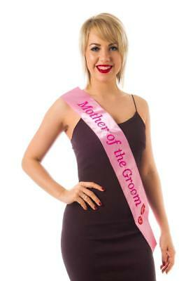 Sash Flashing Mother of the Groom Hen Night Party Wearables