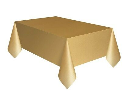 Tablecover Gold Wedding Tableware