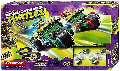 New Nickelodeon Carrera Slot Racing System Mutant Ninja Turtles - Dmged Box