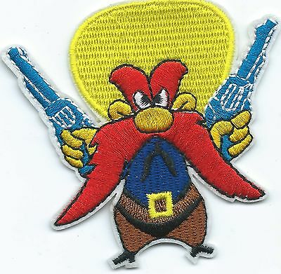 Yosemite Sam Looney Tunes Embroidered Iron-on Patches Art Good Luck Magic