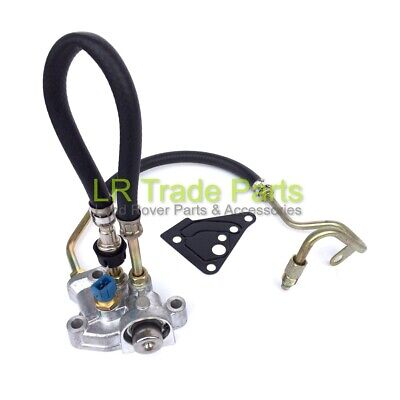 Land Rover Defender Td5 Fuel Pressure Regulator & Gasket Lr016318 (02-06) 2 Pipe