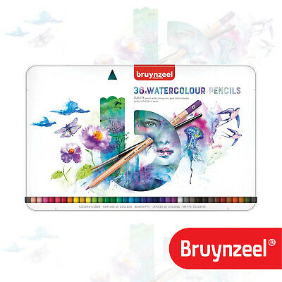 Bruynzeel - Expression Aquarel - Tin of 36 Artist Watercolour Pencils