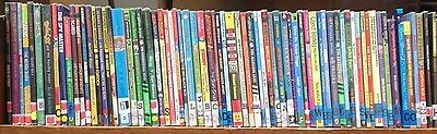 Children's Reading Books (Fiction): box of approx. 40 books for boys ages 7-9