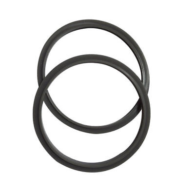 2PCS Grey Rubber Gasket Seal Ring For Nutribullet Extractor Blade Base 600W 900W