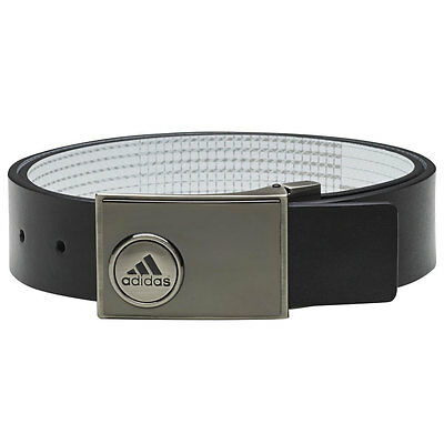 Adidas Ball Marker Printed Golf Belt (Black/Shock Green, One Size)