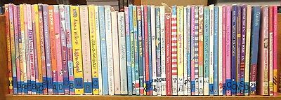 Children's Reading Books (Fiction): box of approx. 40 books for girls ages 7-9