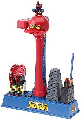 Spiderman Colour Drawing Projector Boys Art Colouring Activity Set Childrens Toy