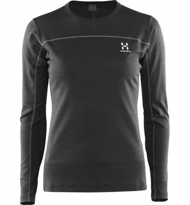 Haglofs Actives Blend Women's Roundneck Top Thermal Base Layer Winter New