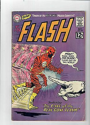 FLASH (V1) #128 Grade 5.0 Silver Age find! Awesome Infantino cover!