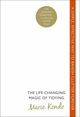 The life-changing magic of tidying by Marie Kondo (Paperback)
