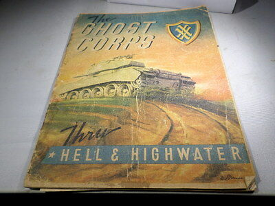 WWII VINTAGE 20 XX Ghost Corps Unit History Book