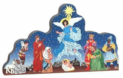 Cat's Meow Village Starry Nativity The Birth Of Jesus #16-5811 NEW Ship Discount