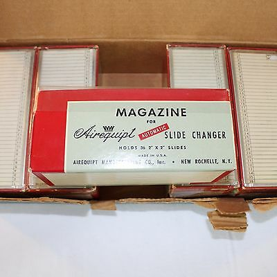 Argus 36 Slide Projector Trays Lot of 6