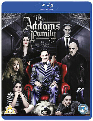 The Addams Family Blu-ray (2013) Anjelica Huston, Sonnenfeld (DIR) cert PG