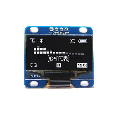 "1.3"" SPI 128x64 OLED LCD Display 1.3 inch LCD Module Arduino AVR PIC STM32"