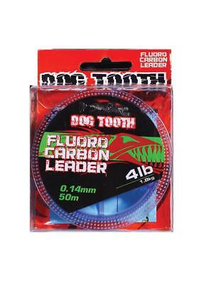 NEW Dogtooth Dogtooth Flurocarbon Leader