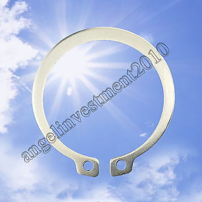 100Pcs 3-30mm 304 Stainless Steel External Retaining Rings Circlip GB894