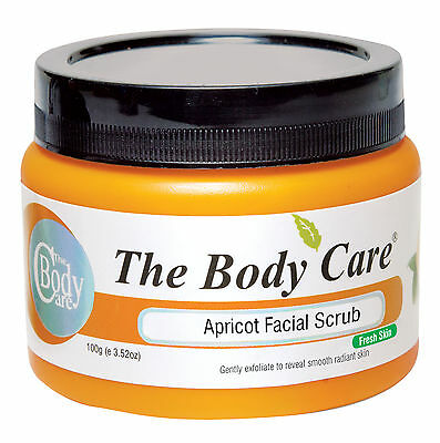 The Body Care Apricot Facial Face Scrub For Fresh Skin - Choose Weight