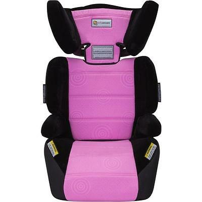 Infa Secure Vario Caprice Child Booster Seat - Pink, 4-8 Years Old
