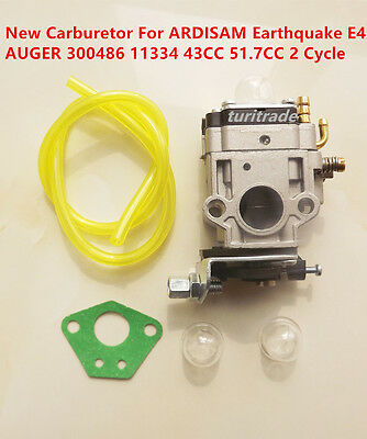 Carburetor For ARDISAM Earthquake E43 AUGER 300486 11334 43CC 51.7CC 2 Cycle US