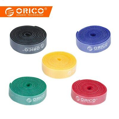 Colorful Cable Managemen Plastic Nylon Mark Label 1Meter 3.3Ft Cable Ties for PC