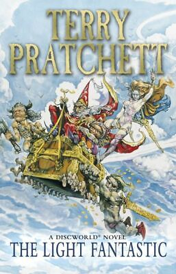 A Discworld novel: The light fantastic by Terry Pratchett (Paperback)