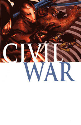 Marvel graphic novel: Civil war by Mark Millar (Paperback)