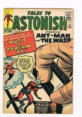 Tales to Astonish # 47  Ant-Man Wasp grade 3.5 scarce hot book !!